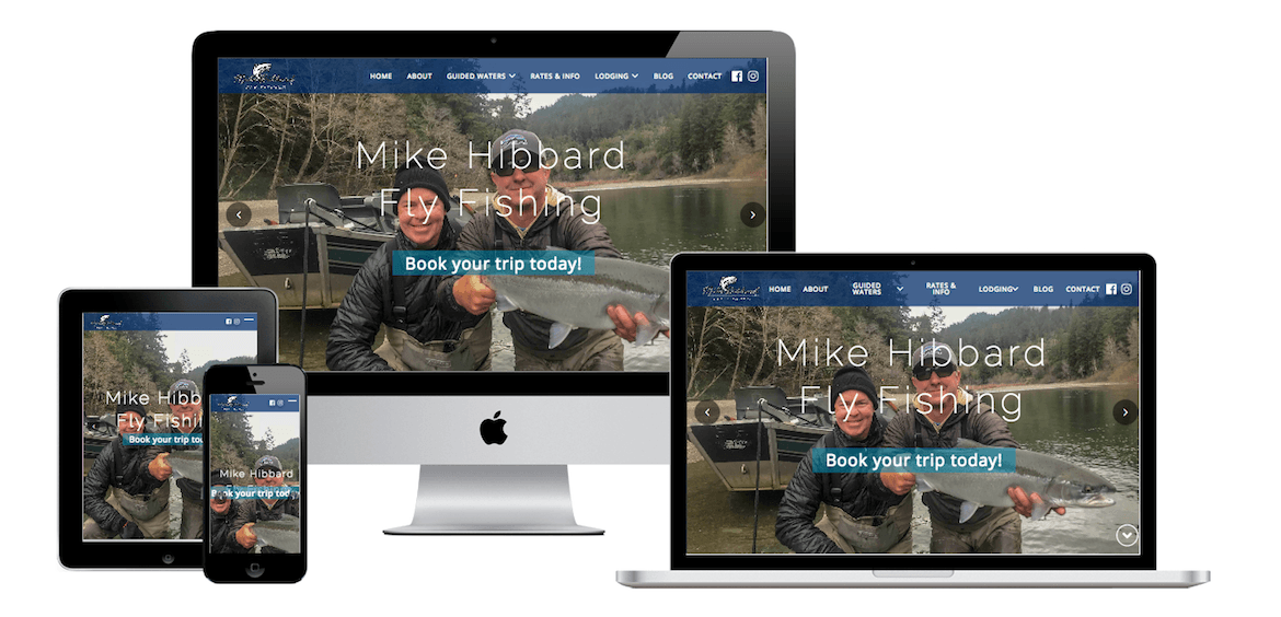 Mike Hibbard FlyFishing | Sundial Design