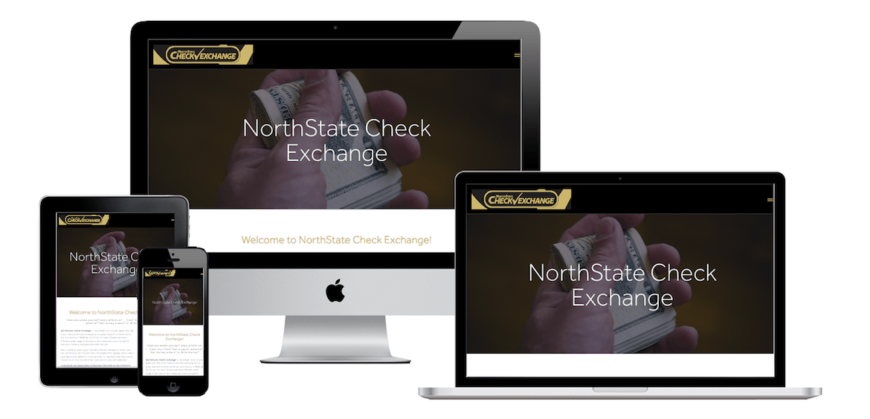 Northstate Check Exchange | Sundial Design